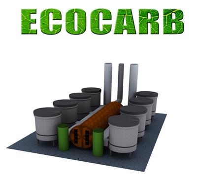 Екоконцепт представя инсталация за производство на дървени въглища на изложението за енергийна ефективност