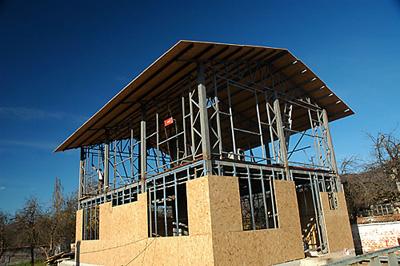 Къща със стоманена модулна конструкция - най-добрият дом или просто екзотична новост