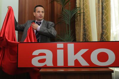 Мебелни салони Aiko представиха новото си лого и цялостната концепция за ребрандиране на марката