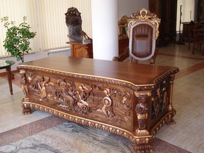 Ръчно изработени мебели в стил барок, рококо, сецесион, ар нуво