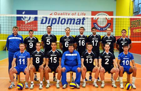 'Дипломат Корпорейшън' ООД подкрепя волейболен клуб от Суперлигата
