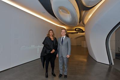 Roca London Gallery - новото творение на Заха Хадид