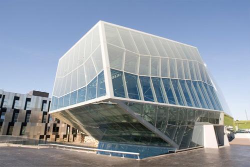Инженерен и иновационен център Ambar - триумфът на геометрията