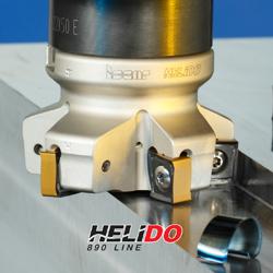 Линията Helido S890 е ново, икономично, високоефективно решение за челно фрезоване
