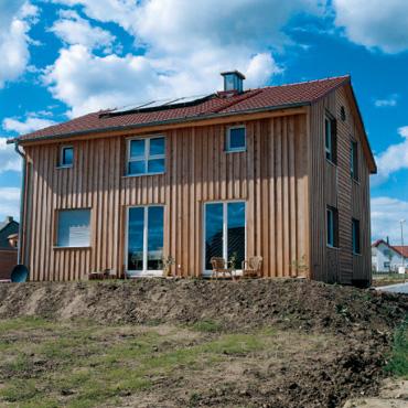 Сглобяемите къщи - една комбинация от гипс и дърво