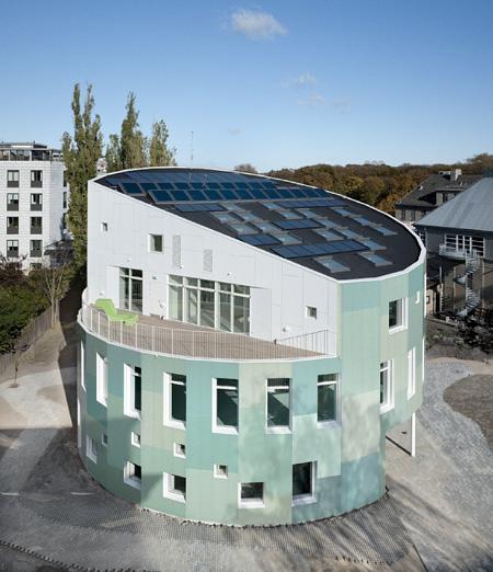 Green Lighthouse - най-красивата устойчива сграда в Копенхаген е с покривни прозорци Велукс