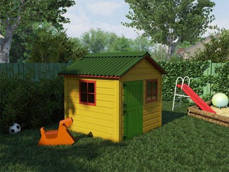 Покрив от Ондулин - очарователен акцент във всяка градина
