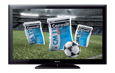 Финалите на Евро 2012 на голям екран с Ceresit - инициатива на Хенкел България за лоялни потребители