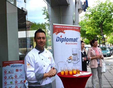 'Cooking Academy Diplomat' - най-новият проект на 'Дипломат Корпорейшън'