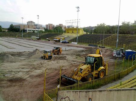 Лювик ООД изгражда модерна дренажна система на стадион 'Хр. Ботев' в Пловдив