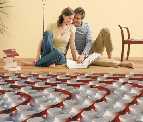 Austrotherm PPG - иновативна топлоизолационна плоча за полагане на подово отопление