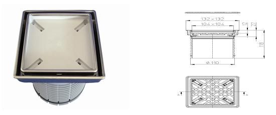 Наставка за индивидуални плочки HL3020