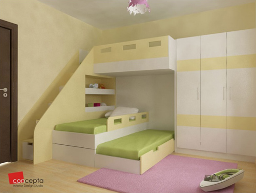 Как да направите нова детска стая