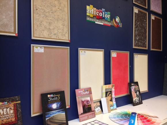 Италианските мазилки Adicolor вече се продават в магазините Mr. Bricolage