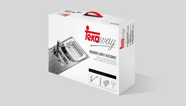 Tekaway - уникален комплект кухненска мивка и смесител