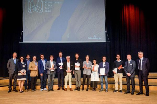 Връчиха световните награди за иновативна керамична архитектура Wienerberger Brick Award 2016