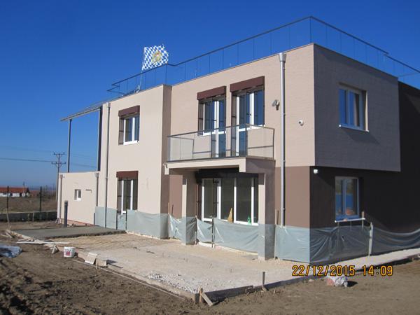 Пасивна къща в България с дограма от фирма Чех-Пласт ООД