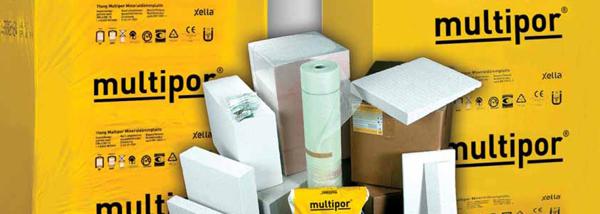 Multipor дава възможност да се контролира микроклиматът у дома