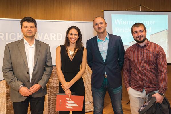 Четирима български архитекти продължават в конкурса Wienerberger Brick Award