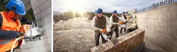 Ъглошлайфи и резачка за камъни на STIHL: издръжливи, мощни и икономични уреди