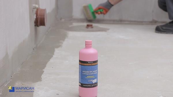 Комплексна система за хидроизолиране и облицоване на баня в няколко стъпки