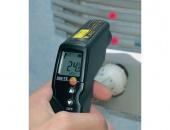 Инфрачервен термометър testo 830 - многофункционален инфрачервен термометър с 2-точково лазерно маркиране