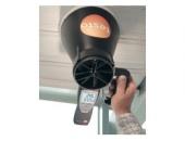 Крилчат анемометър testo 417 - за измерване скорост на въздушен поток, дебит и температура
