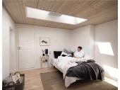 Покривен прозорец за плосък покрив VELUX
