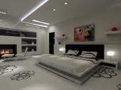 3D проект - спалня