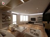 3D проект - всекидневна стая