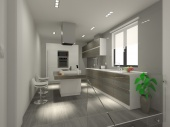3D проект - кухня