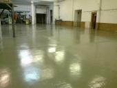 Акрофлекс 2K PU+ - система за защита на бетонни подове на индустриални халета