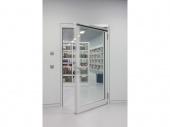 Устройство за автоматично отваряне на врати на панти GEZE Slimdrive EMD-F