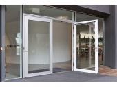 Устройство за автоматично отваряне на врати на панти GEZE Slimdrive EMD