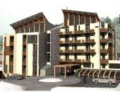 Айкон ЕООД - Хотелски комплекс в к.к. Боровец. Изграждане на вътрешна отоплителна инсталация.