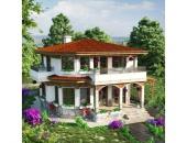 Сглобяема къща, проект 46: площ - 155 кв. м; 3 стаи; 2 спални. Цена: 38 750 евро