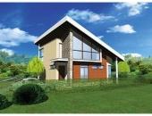Сглобяема къща, проект 47: площ - 178 кв. м; 5 стаи; 3 спални. Цена: 44 500 евро