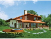 Сглобяема къща, проект 51: площ – 181 кв. м; 4 стаи; 3 спални. Цена: 45 250 евро
