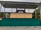Импрегниране на дървен материал с Firestop