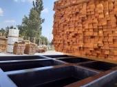 Безцветно импрегниране във вана с консервант за дървесина Firestop