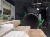 Автоклавна импрегнация на дървен материал