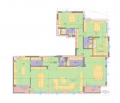 Апартамент 8-3B - ниво 3 - площ 257,68 м2