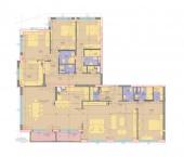 Апартамент 15-2A - ниво 5 - площ 285,79 м2
