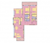 Апартамент 3 - ниво 1 - площ 155.63 м2