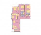 Апартамент 22-3A - ниво 7 - площ 155,84 м2