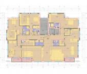 Апартамент 8-5A - ниво 3 - площ 413,22 м2