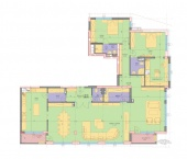 Апартамент 11-3B - ниво 4 - площ 257,68 м2