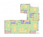 Апартамент 5-3B - ниво 2 - площ 257,68 м2