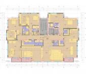 Апартамент 20-5A - ниво 7 - площ 413,22 м2