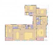 Апартамент 23-3B - ниво 8 - площ 257,68 м2